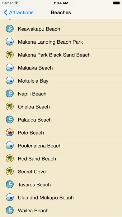 Maui GPS Tour Guide screenshot